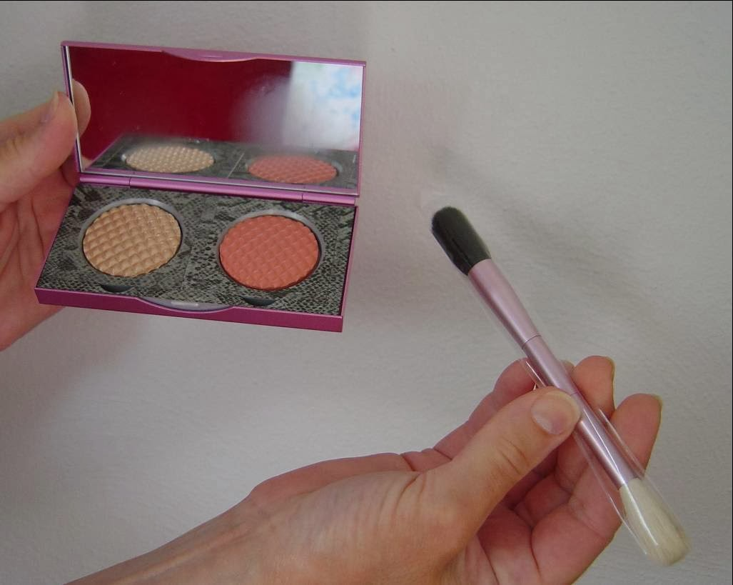 Mally Beauty's Effortless Airbrush Highlighter & Blush Duo Compact