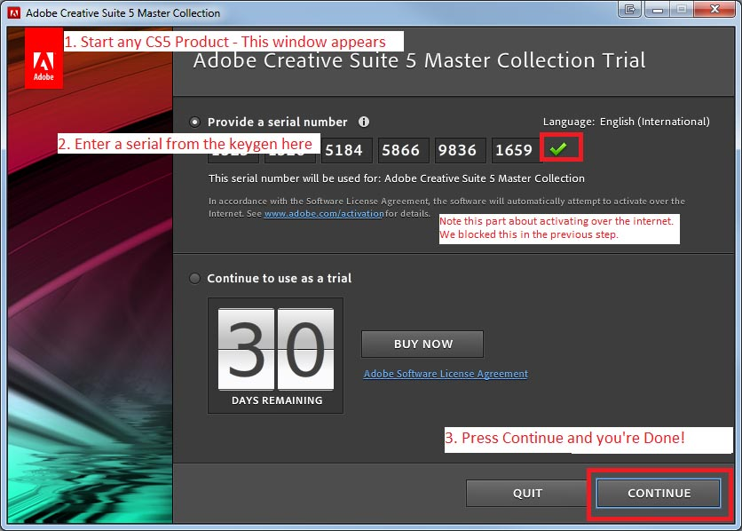 adobe photoshop cs5 master collection serial number free download