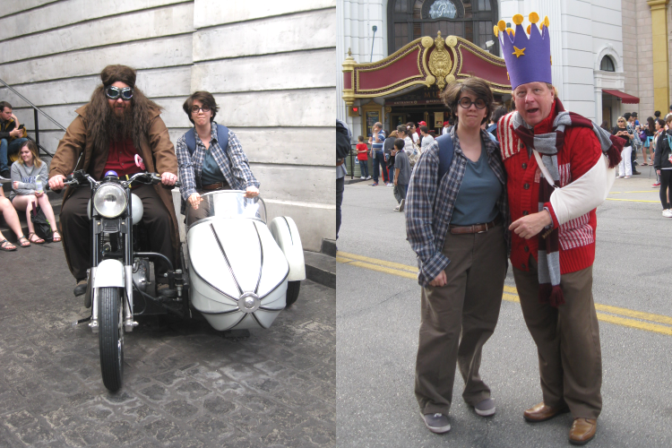Harry Potter Cosplay Hagrid Arthur Weasley
