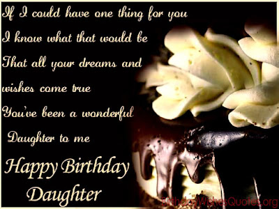Awesome Birthday Wishes for Daughter