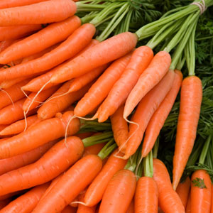 Do carrots really benefit in sight?