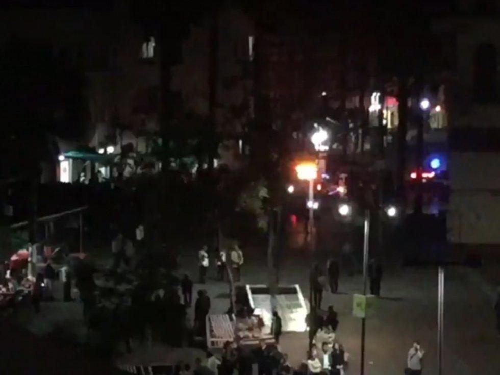 """VIDEO: CJNG respalda a """"La Unión"""" en CDMX; iban tras """"El Tortas"""" en balacera de Garibaldi."""
