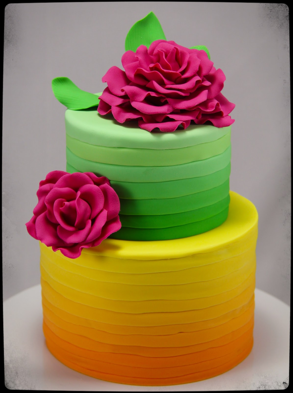 Coco Jo Cake Design Summer Citrus Party