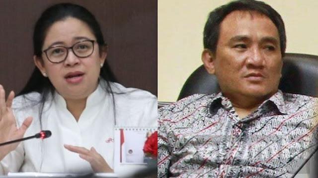 Sindir Puan Maharani, Andi Arief: Lari dari Tugas Negara saat Datang Bencana