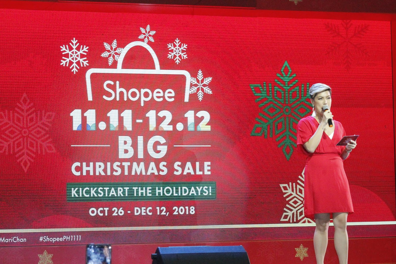 Crownless Warrior: Shopee announces the New Christmas Ambasaddor Mr ...