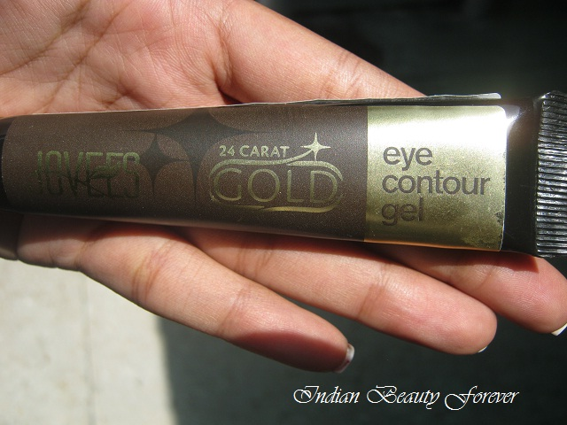 Jovees 24 carat gold eye contour gel