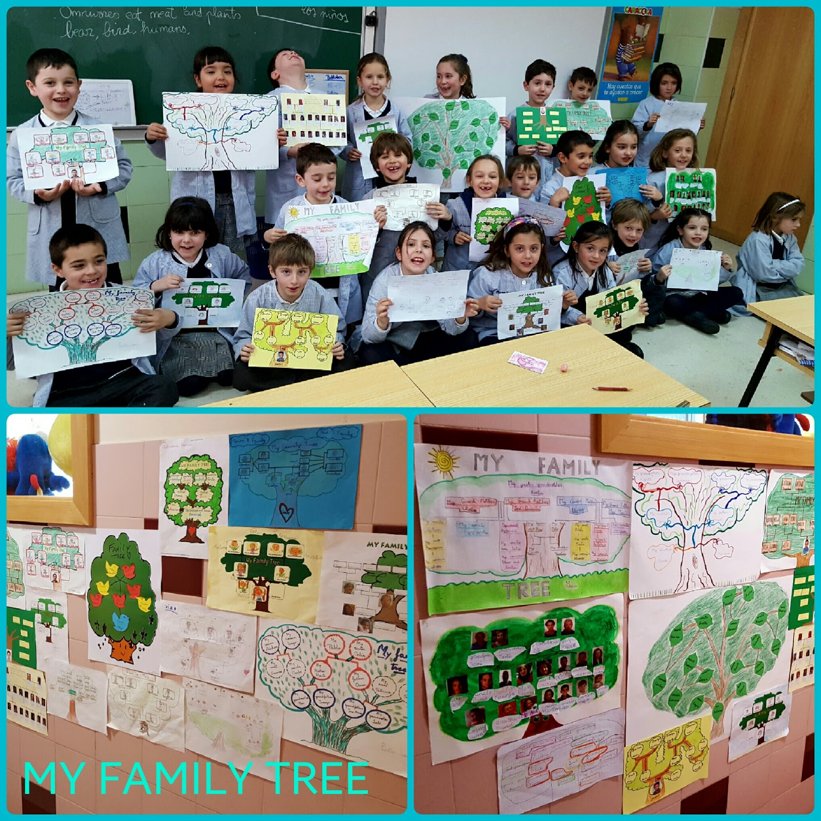 Agustinas Valladolid - 2017 - Primaria 1 - My Family Tree 1