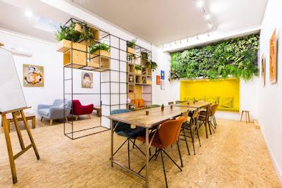 les coworking café - Point sur le coworking dans l'ouest parisien #1 - le point de vue de Paris à l'Ouest