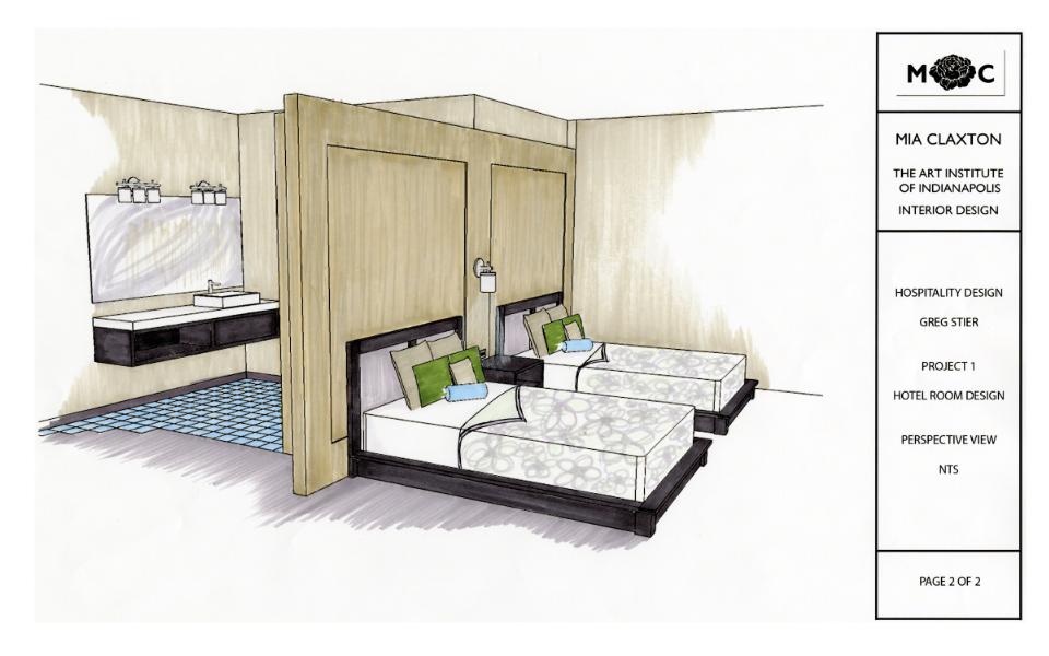 Aim To Design: Hotel Room Design