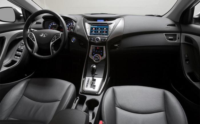 Interior Hyundai Elantra on 2012 Hyundai Elantra
