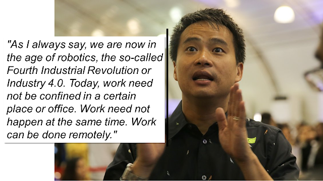 "Under the proposal, which is now approved, alternative working hours shall not exceed 48 hours a week and there is no reduction of existing benefits.  Senator Joel Villanueva, author, and sponsor of the measure said his proposal is an ""answer to the changes in the labor market and in the nature of employment.""  ""As I always say, we are now in the age of robotics, the so-called Fourth Industrial Revolution or Industry 4.0. Today, work need not be confined in a certain place or office. Work need not happen at the same time. Work can be done remotely,"" he said.       Ads           The Senate approved on third reading on Monday a bill that will give employers and employees an option to adopt flexible working arrangements.  With 17 affirmative votes and no negative votes, the Senate approved Bill 1571 or the proposed Alternative Working Arrangement Act.  The bill seeks to the amendment of Article 83 of the Labor Code. It seeks to make an exception to the normal eight hours of work a day Under the proposal, alternative working hours shall not exceed 48 hours a week and there is no reduction of existing benefits.  Senator Joel Villanueva, author, and sponsor of the measure said his proposal is an ""answer to the changes in the labor market and in the nature of employment.""  Villanueva, chairman of the Senate Committee on Labor, Employment and Human Resources Development, noted that an alternative working arrangement or flexible working is a necessity and that every Filipino worker deserves to have this statutory right.  Ads      Sponsored Links    The senator also shared that a number of companies companies are already implementing non-traditional working arrangements, such as flexitime, four-day workweek, compressed workweek, working from home, shift flexibility, among others, to give their workers more independence and control over their work.  Apart from the benefits, the bill provides to employees, the senator said the bill has massive benefits as well to employers.  Among the benefits of flexible working arrangement to employers are less expense on recruitment and training, and huge savings resulting from the reduction of traffic congestion."