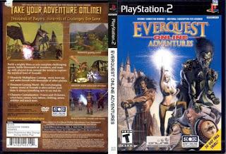 Link Everquest online adventure PS2 ISO Clubbit
