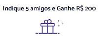 Meliuz: Indique 5 amigos, ganhe 200 reais!