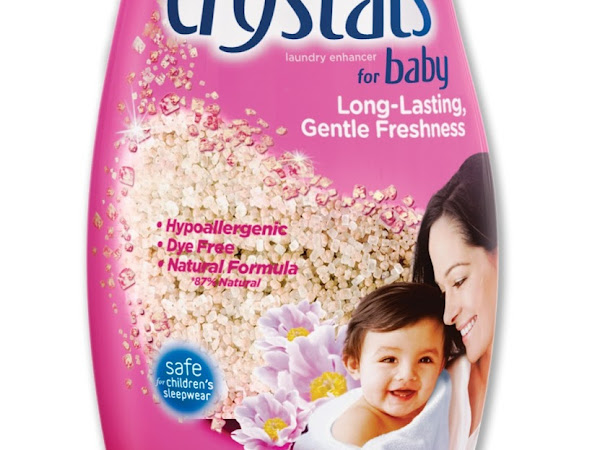 That Fresh Baby Smell {A Sponsored Post for Purex Crystals for Baby!}