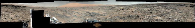 Sol 1144 Curiosity Left Mastcam (M-34) Pahrump Hills UPDATED