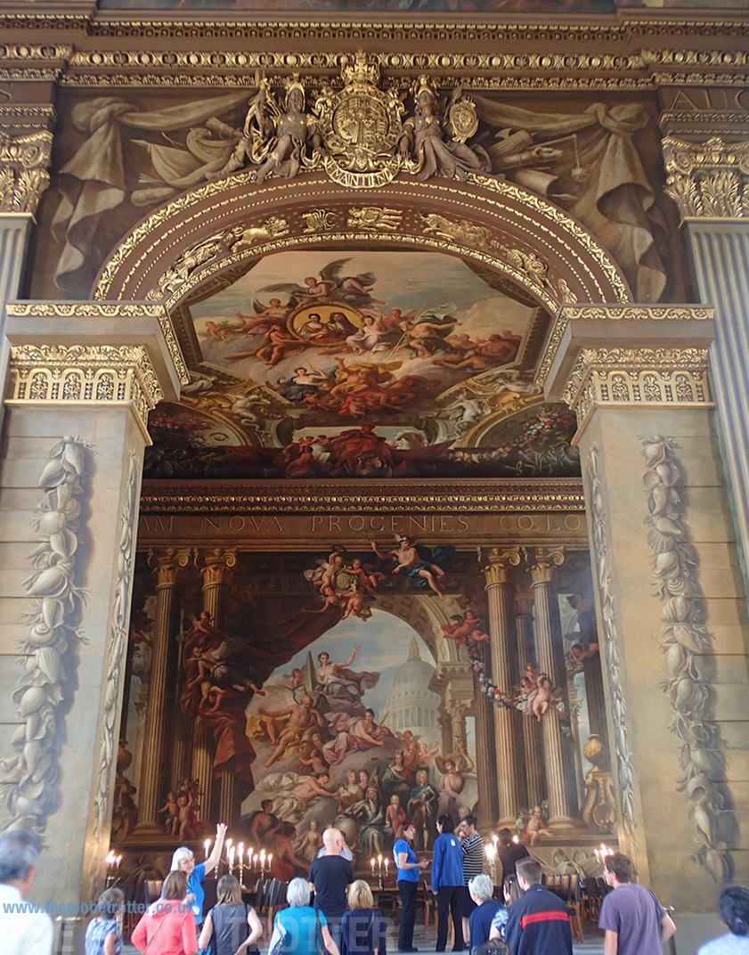 Magnificent Interiors at The Painted Hall and The Chapel