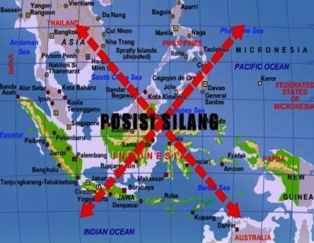 Posisi silang Indonesia di Asia Tenggara