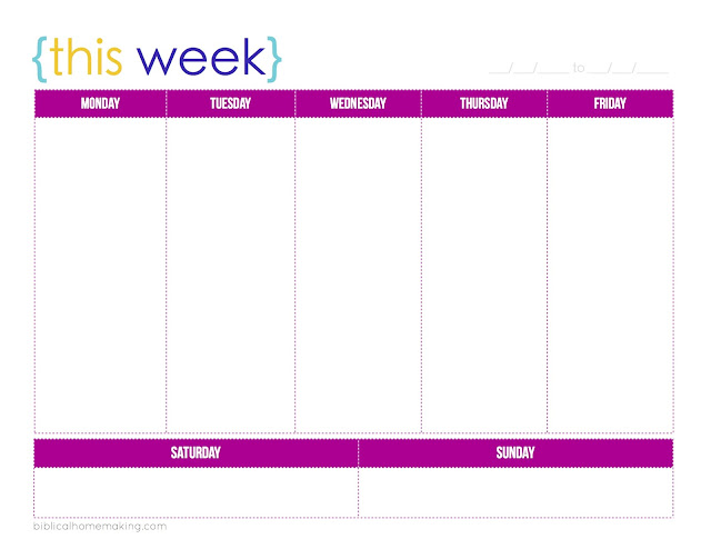 2 Week Blank Calendar Template Pictures to Pin – 2 Week Calendar Template