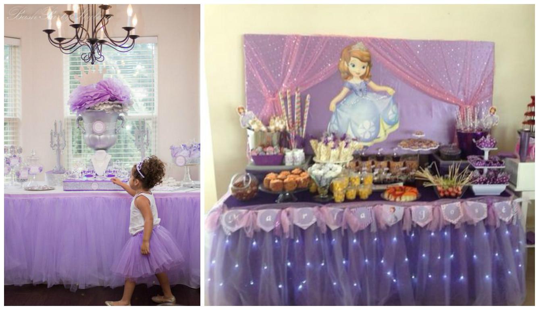 15 ideas para decorar mesas de dulces con tul mimundomanual for Mesas dulces cumpleanos