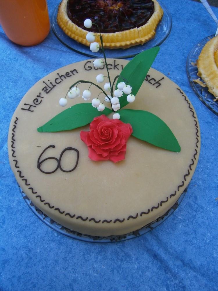 Die Kuchenuli Torte Zur Diamantenen Hochzeit Und Butterkrem