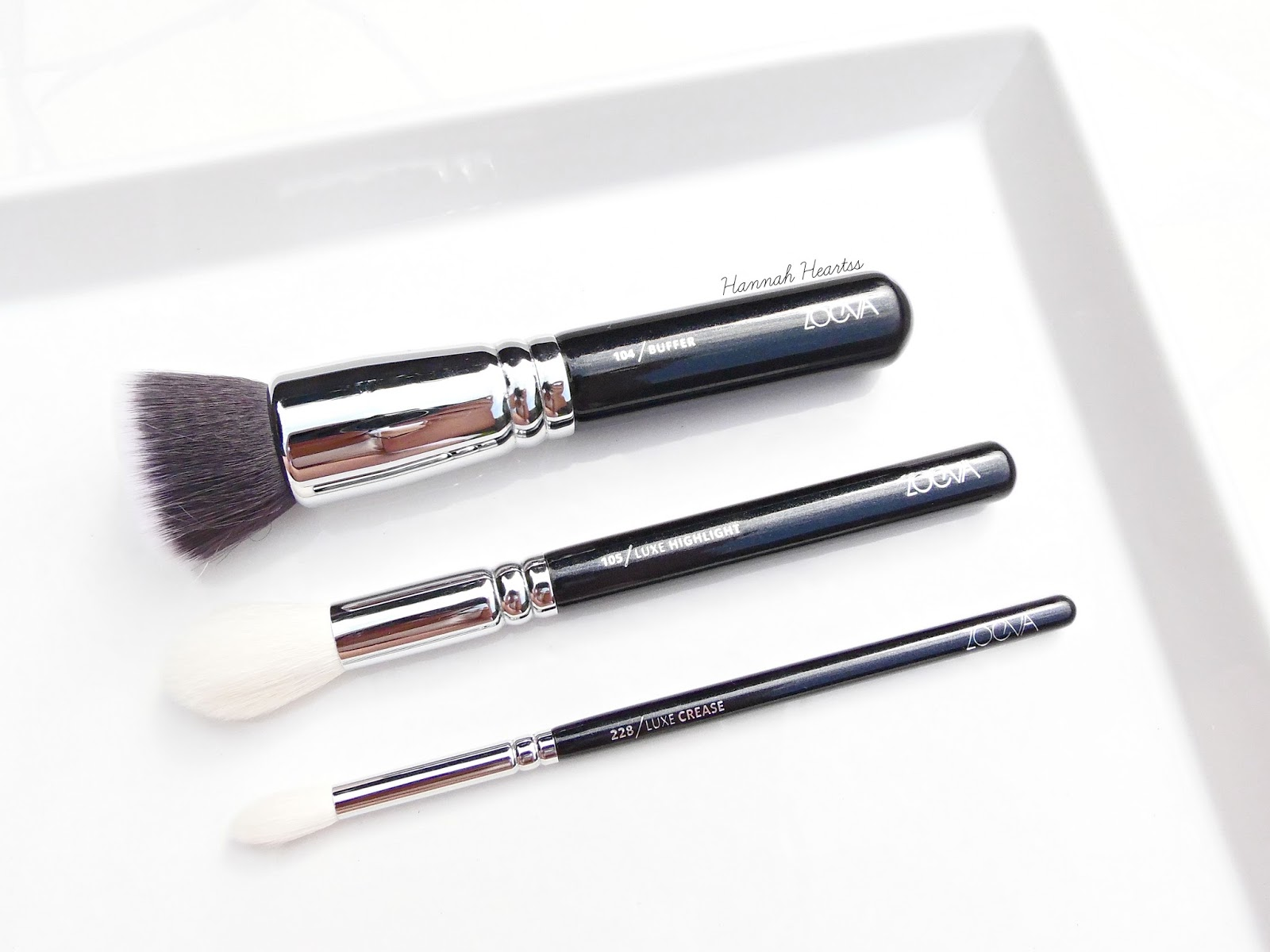 Zoeva Brushes Review