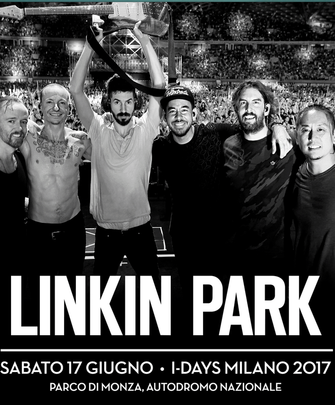 Linkin Park – I-Days Milano Festival (June 17, 2017)