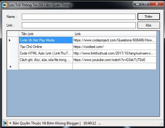 Cách ghi, đọc, xóa file trong VB.NET