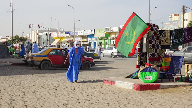 They look like terrorist in Nouakchott