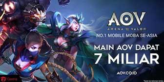 AOV Gelar Turnamen eSports, Total Hadiah 7 Miliar Rupiah