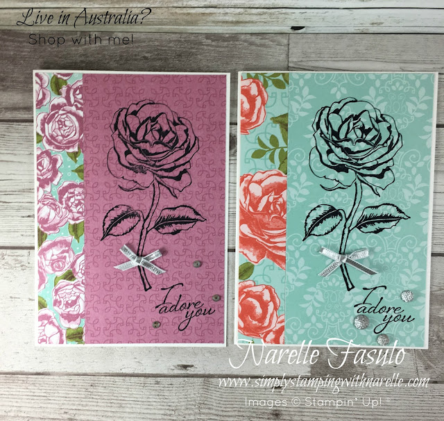 Make quick and easy cards with beautiful products - even better when they are on sale - https://goo.gl/EAhuun - Simply Stamping with Narelle