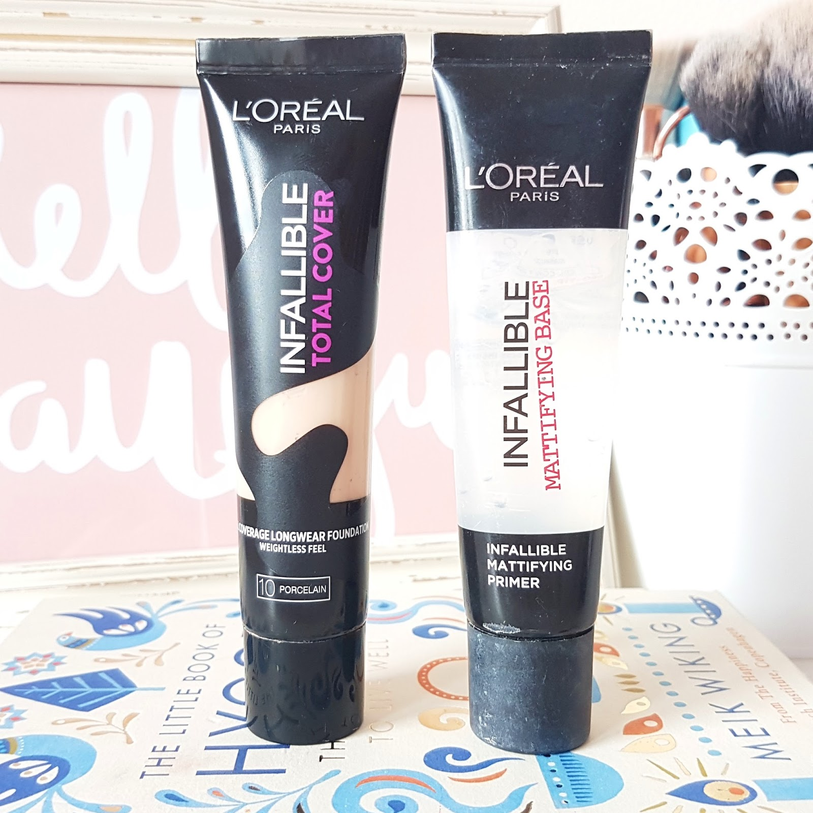 l u0026 39 oreal paris infallible total cover full coverage foundation