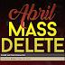 Contas Deletadas em Abril