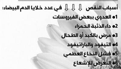 أسباب الزيادة والنقصان في خلايا الدم البيضاء Wbc دكتور عمار خليل