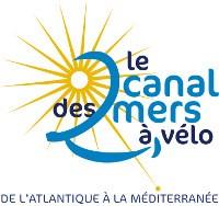 Le Chameau Bleu - Blog Voyage Canal des deux mers en vélo - Logo du Canal des 2 mers