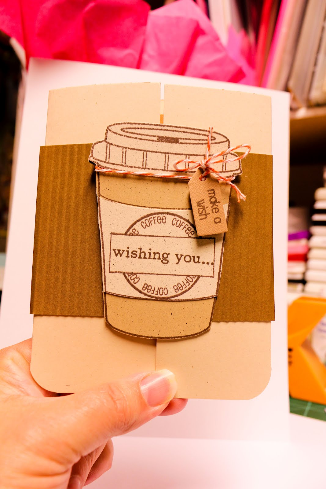 A Birthday Card For Coffee Lovers This Is My Dear Friend Shelleyshe Drinks But More Than That