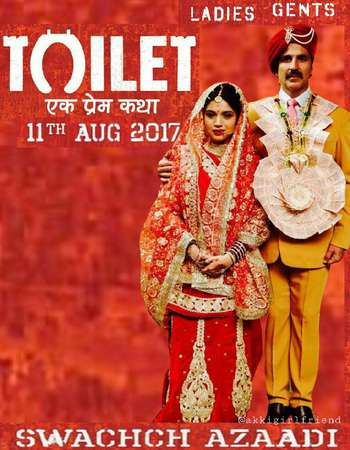 Toilet - Ek Prem Katha 2017 Full Hindi Movie BRRip Free Download
