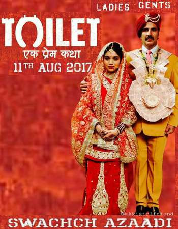 Watch Online Toilet - Ek Prem Katha 2017 Full Movie Download HD Small Size 720P 700MB HEVC BRRip Via Resumable One Click Single Direct Links High Speed At WorldFree4u.Com
