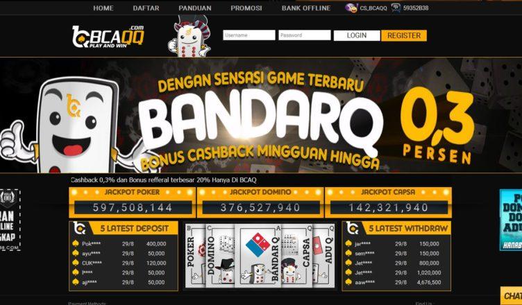 Pokervovo Bcaqq Agen Qq Dan Poker Terpercaya 2018