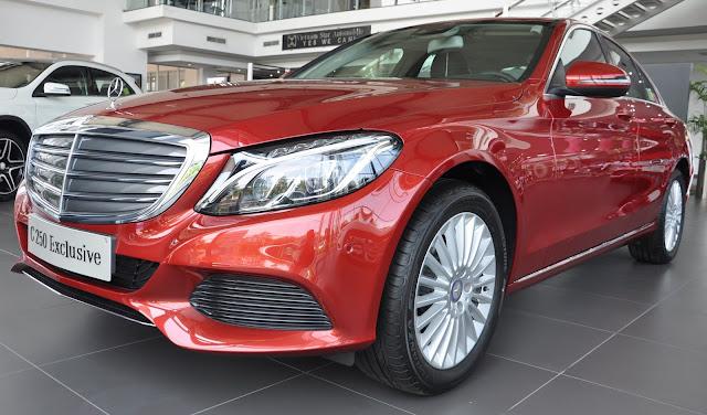 Mercedes C250 Exclusive 2018 là chiếc sedan 5 chỗ thiết kế sang trọng đẳng cấp