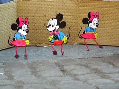 Pupazzetti Disney danzanti Topolino e Minni