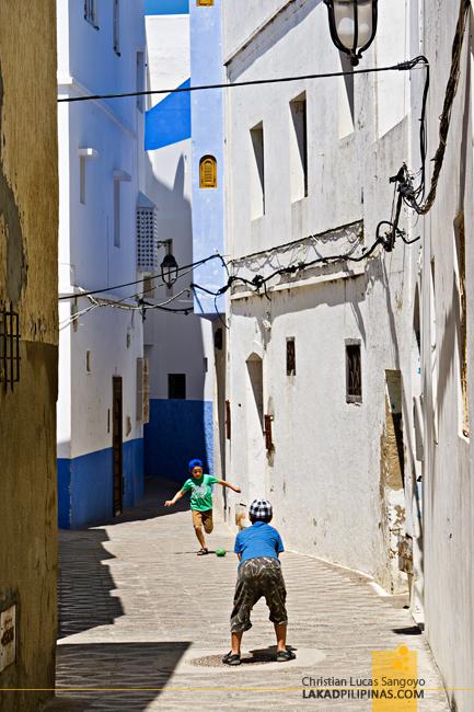 Asilah Medina Morocco Football Kids
