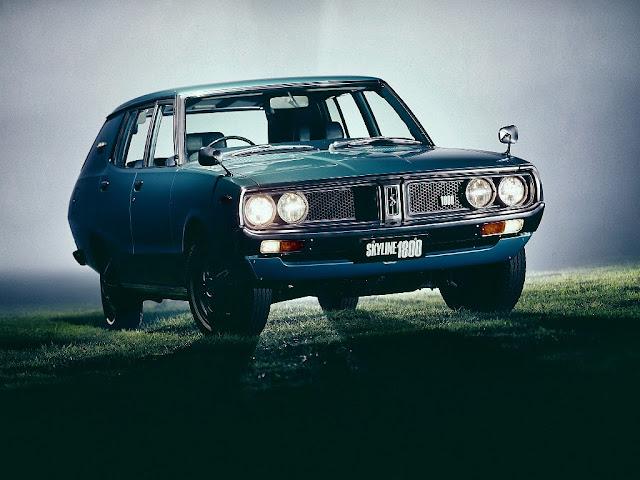 Nissan Skyline 1800 Deluxe Van