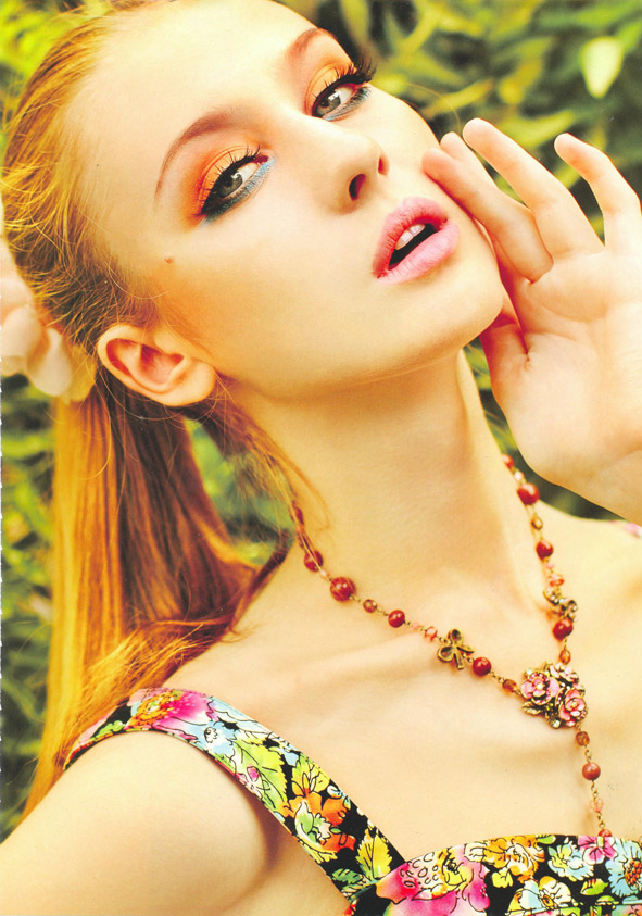 RushModels: New Beauty Editorial Of Darya Burak