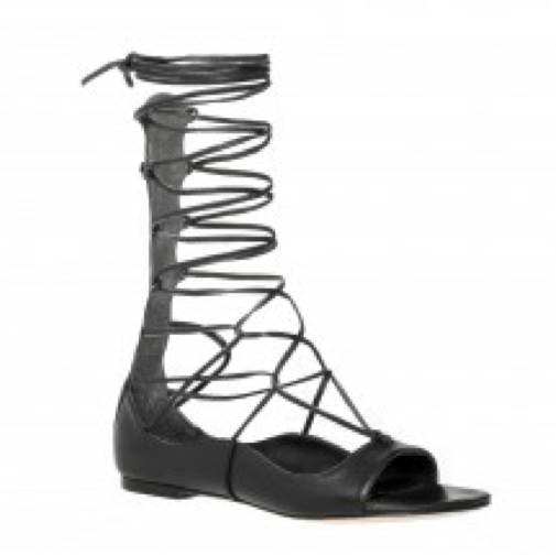 329f0d051b6 Here is the list that includes styles in every height from strappy lace-ups  that hover at the ankle to knee-high gladiator sandals that seem to wrap up  the ...