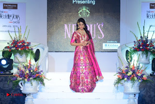 Actress Shriya Saran Pictures at The Wedding Vows Fashion Show  0066