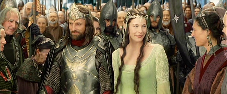 Can aragorn and arwen wedding consider