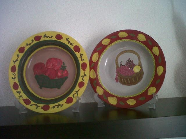 Ζωγραφισμένα Πιάτα