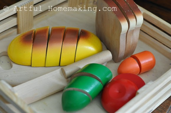 Fine Motor Coordination: Keeping Little Ones Hands Busy. wooden play food