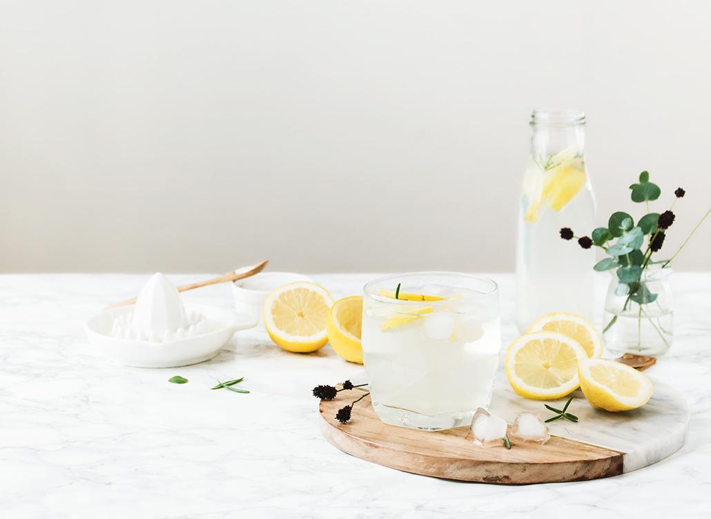 citronnade romarin boisson été citron leanna earle recette facile