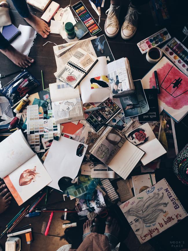 best of art journal: november's freedom: Noor's Place ...